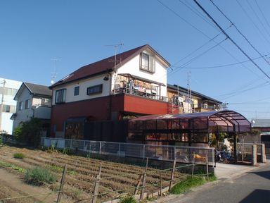 山小屋風な配色で外壁塗装[浜松市南区の加藤塗装]|外壁塗装、屋根塗装