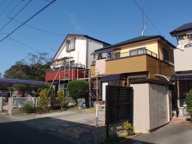 シリコン外壁塗装で和モダンを演出[浜松市南区の加藤塗装]|外壁塗装、屋根塗装