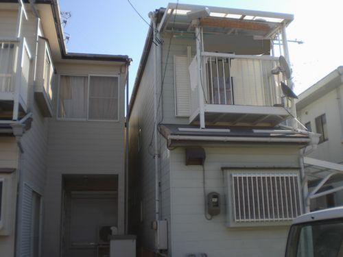 グリーン色のシリコン外壁塗装[浜松市南区の加藤塗装] 外壁塗装、屋根塗装