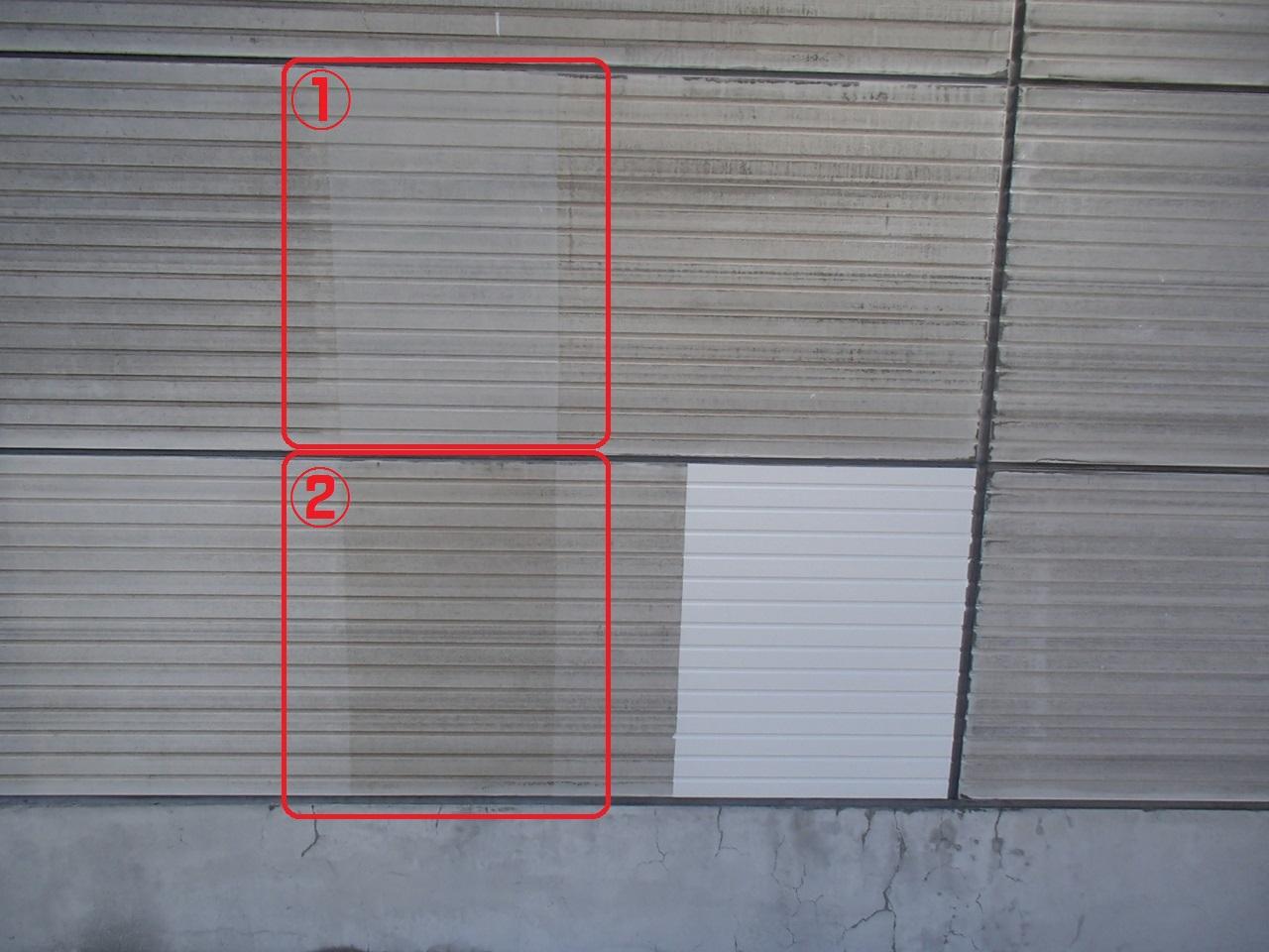 中空セメント板(ラムダ)の塗替え[浜松市南区の加藤塗装] 外壁塗装、屋根塗装