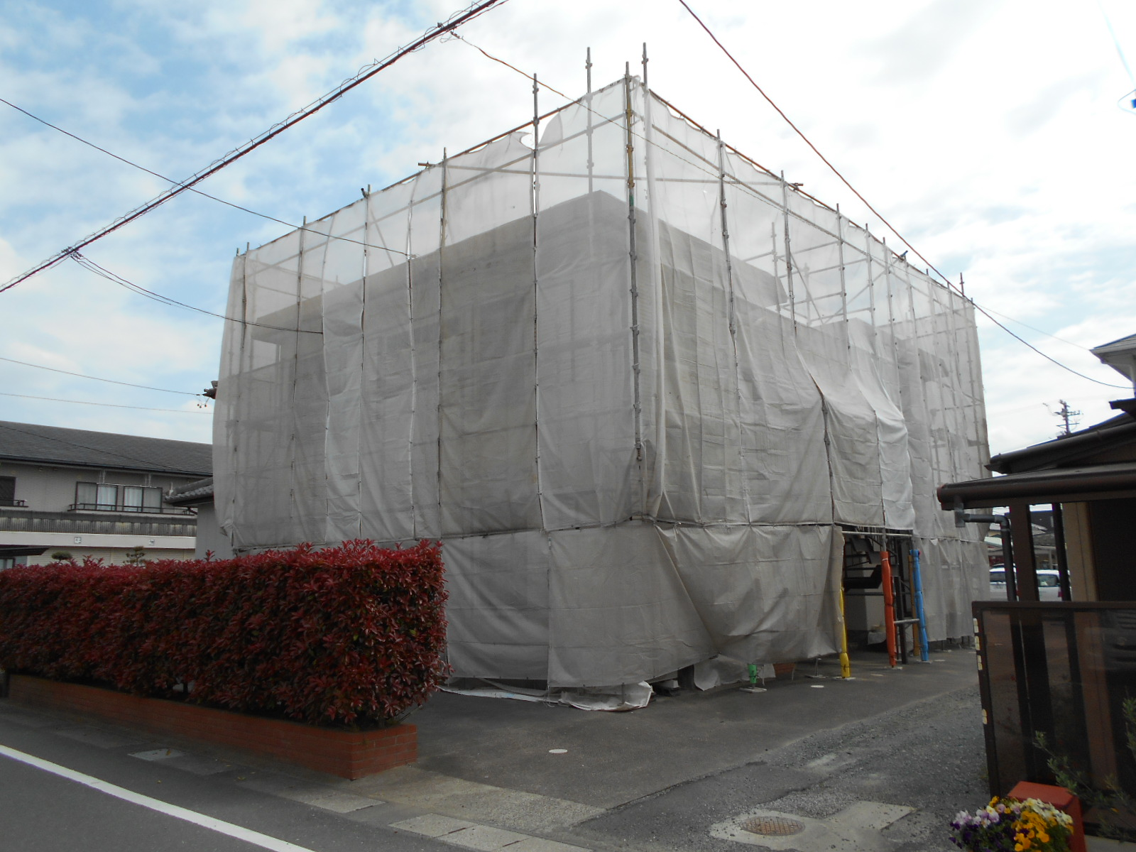 アパート屋根・外壁塗装[浜松市南区の加藤塗装]