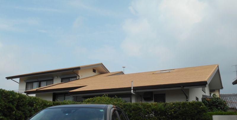 ガイナで遮熱[浜松市南区の加藤塗装] 外壁塗装、屋根塗装