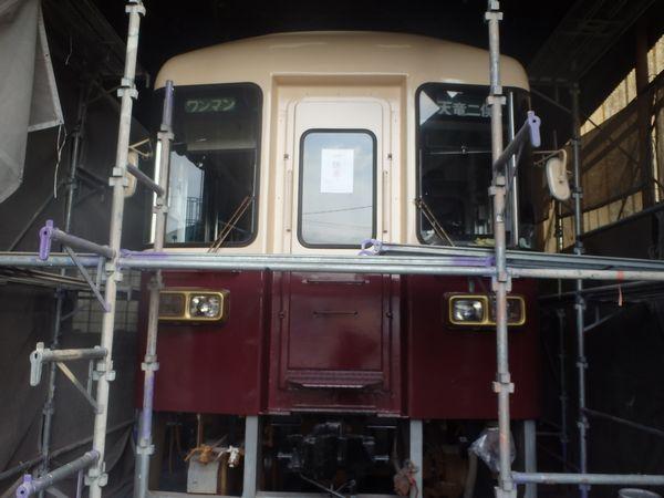 電車TH3501[浜松市南区の加藤塗装] 外壁塗装、屋根塗装