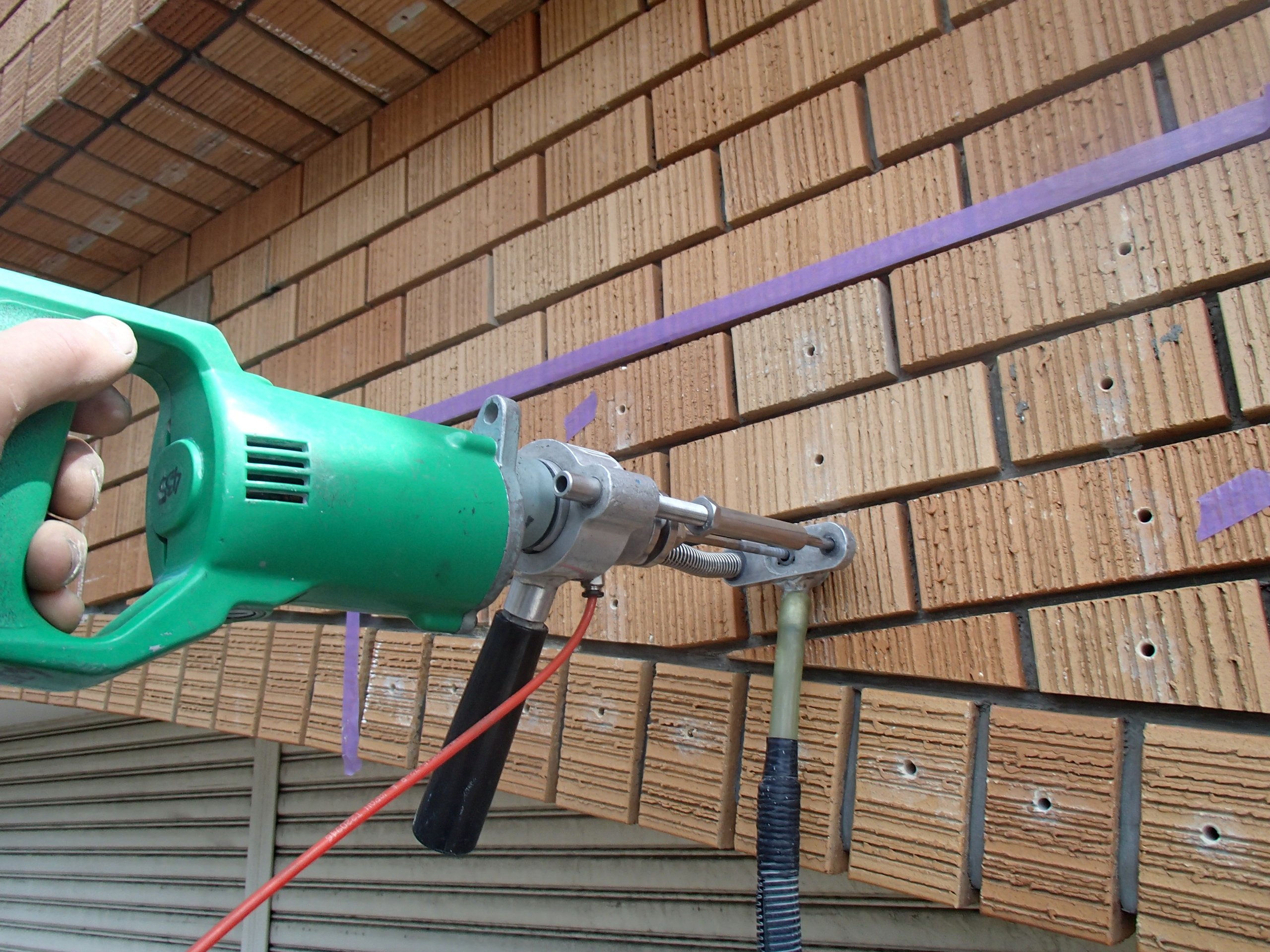 タイル施工[浜松市南区の加藤塗装] 外壁塗装、屋根塗装