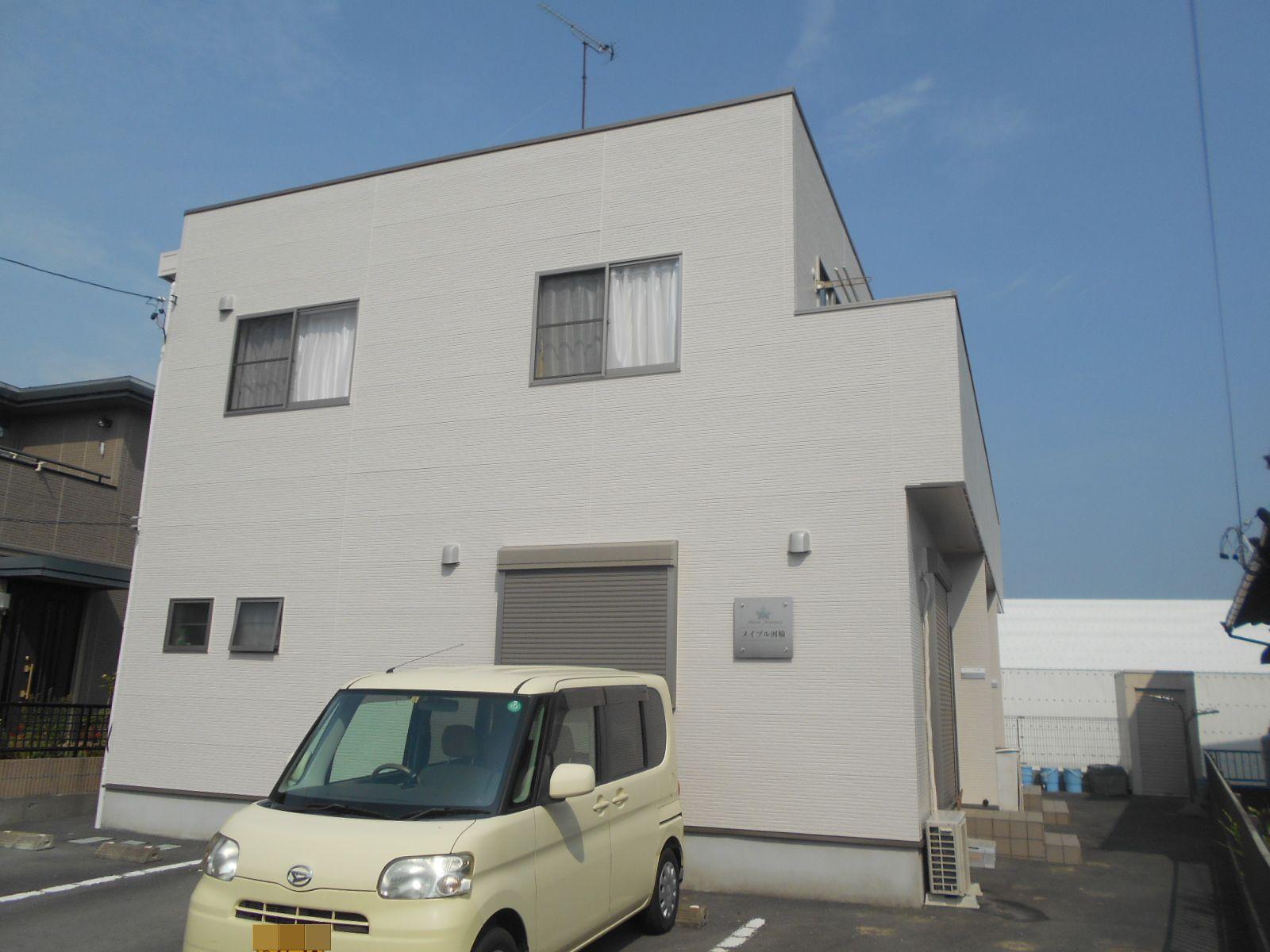 アパートマンションオーナー様必見!二階建てアパート外壁塗装![浜松市 加藤塗装]|外壁塗装、屋根塗装