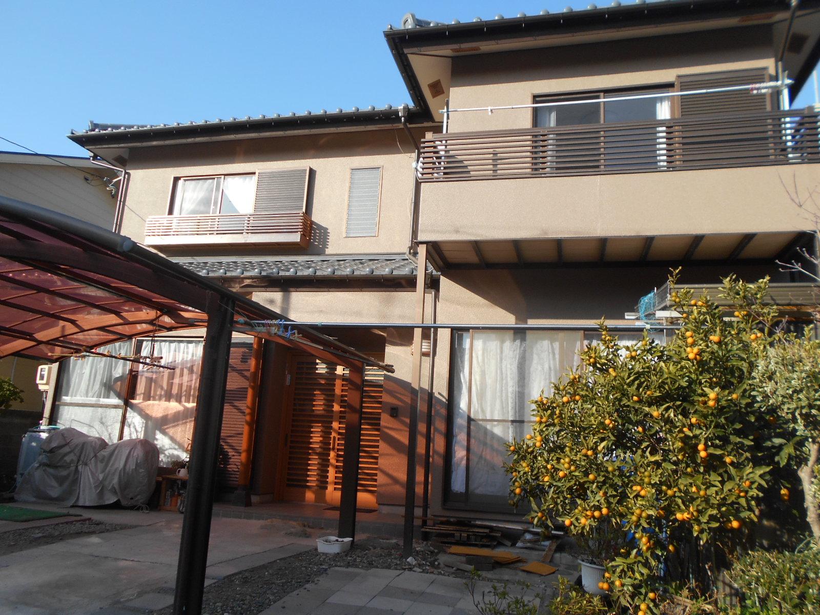 浜松市南区遠州浜 K様邸 完成[浜松市南区の加藤塗装]|外壁塗装、屋根塗装