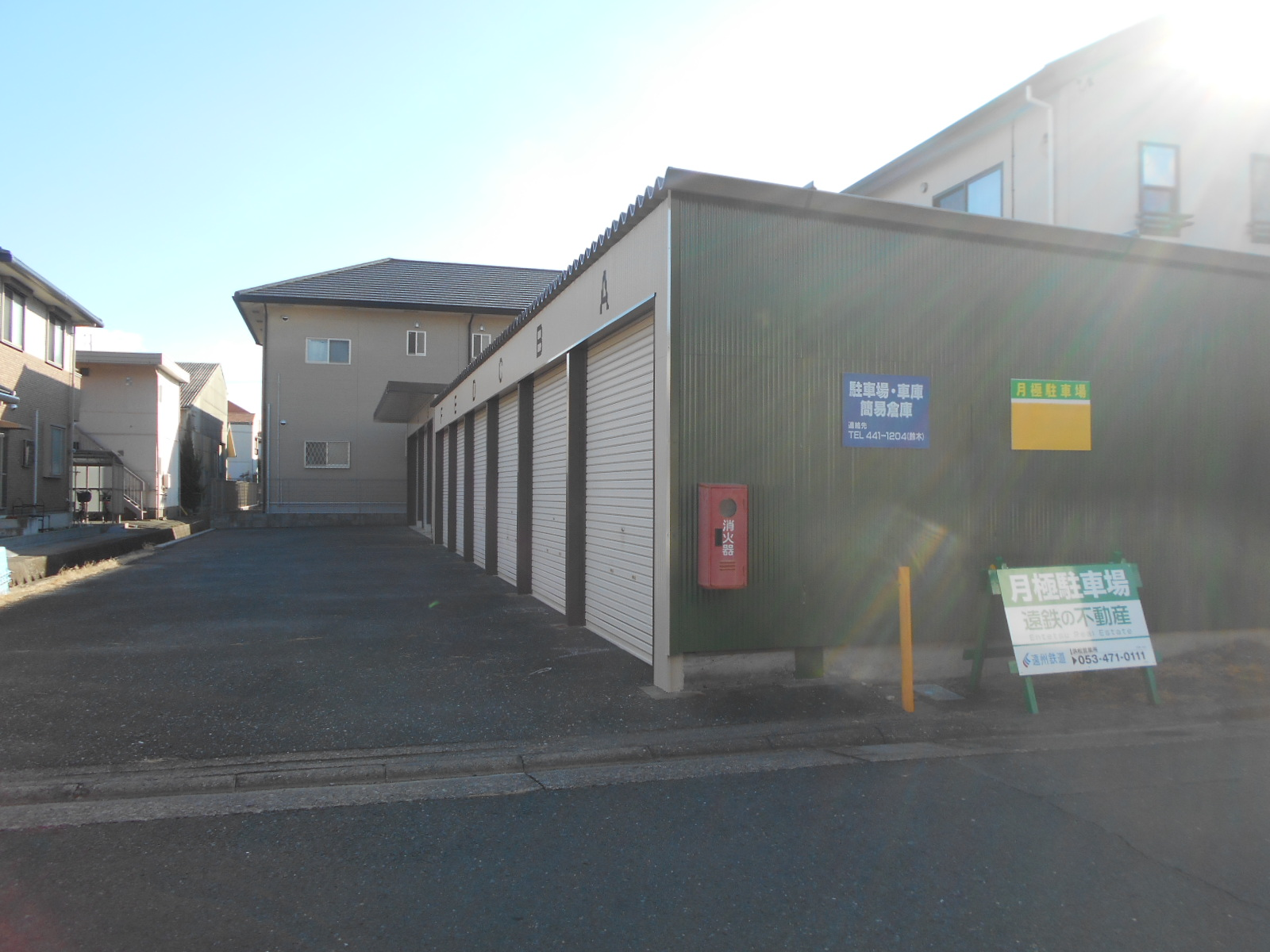 浜松市中区上浅田S様ガレージ 完成 [浜松市南区の加藤塗装]|外壁塗装、屋根塗装